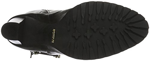 SCHUTZ New Navy Lace Up - Botas Mujer Negro