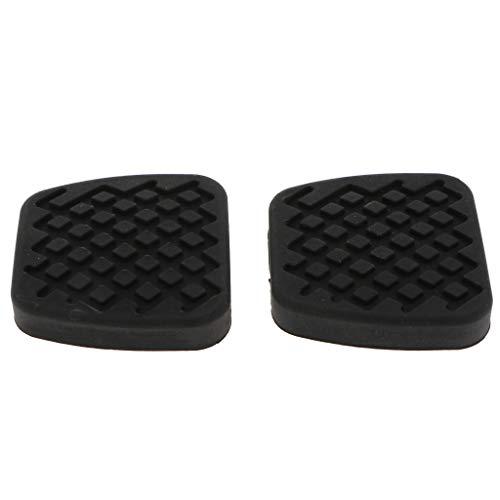 Baosity Pack-2 Brake or Clutch Pedal Pad Cover 46545SA5000 for Honda Accord Civic - ()