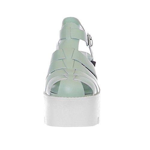 37 Fluffy Smith Windsor Mint Colore Sandali Verde Taglia 7qSB10wS