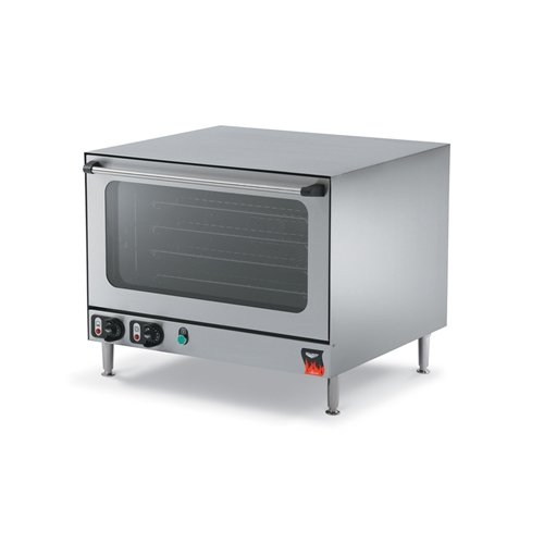 """Vollrath (40701) 23-7/16"""" Half-Size Electric Countertop Convection Oven - Cayenne Seri"""