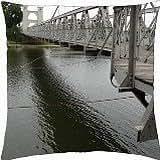 Waco Bridge - Throw Pillow Cover Case (18