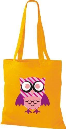De Mujer Para Tela Algodón Amarillo Bolso Shirtinstyle PvO5qq