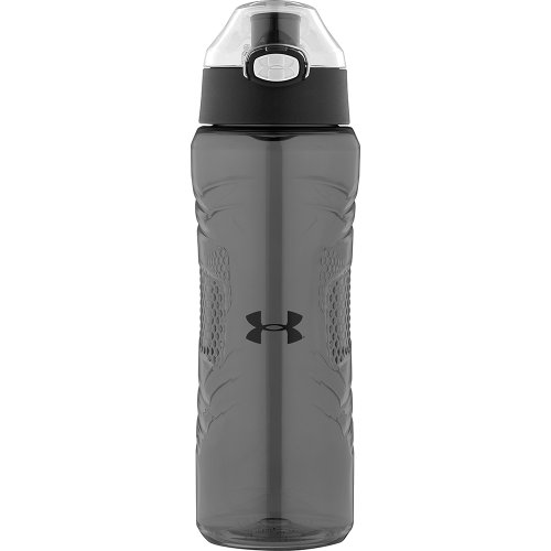 Under Armour Draft 24 Ounce Tritan Bottle, Charcoal
