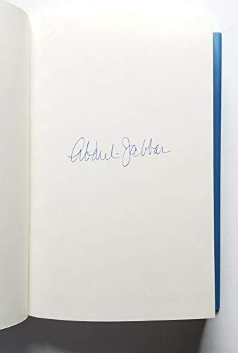 Kareem Abdul-Jabbar REAL hand SIGNED Autographed Coach Wooden and Me HC Book #1
