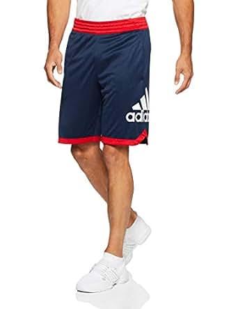 adidas Men's SPT Badge of Sports Short, Collegiate Navy/White, S