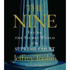 The Nine: Inside the Secret World of the Supreme Court Abridged on 5 CDs [Inside the Supreme Court] by Rand House (Image #1)