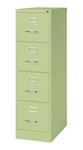 Pro Series Four Drawer Letter Vertical File Cabinet, Putty, 25 inches deep (22307)
