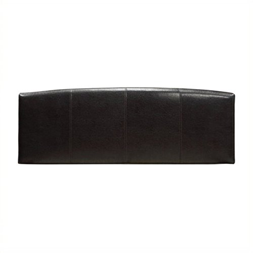 Arch King Headboard - BOWERY HILL King Arch Panel Headboard in Brown