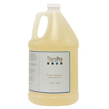 Therapro Clean Sheets Massage Laundry Detergent 1 Gallon/128oz