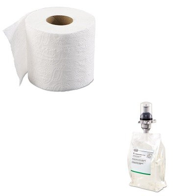 KITBWK6145RCP3486574 - Value Kit - RUBBERMAID COMMERCIAL PROD. Antibacterial Lotion-Soap Refill (RCP3486574) and Boardwalk 6145 Two-Ply Bathroom Tissue (BWK6145) by Unknown