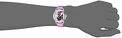 DISNEY Girl's Descendants 2' Quartz Stainless Steel Casual Watch, Color:Purple (Model: WDS000247) by Disney (Image #1)