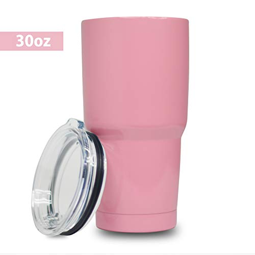 5 Star Stuff 30 oz Tumbler, 100% Stainless Steel Double Wall Vacuum Insulated Cup with Lid