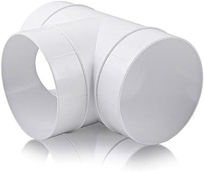 ABS Tubo Redondo De Di/ámetro 125/Canalizado Awenta para tubo de 125/mm, PVC Abrazadera de tubo Soporte para tubo de ventilaci/ón