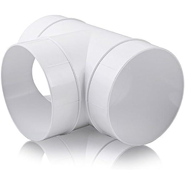 Conductos de tubería redondos (T Pieza Conector de ventilador de ...