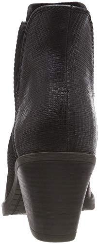 Chelsea Mujer Ant black comb Negro 25314 096 Para Tozzi Botas Marco 21 wIUBUO