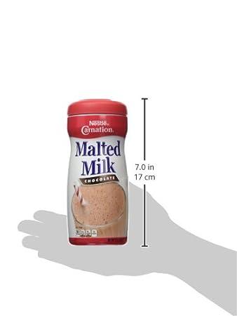 Carnation Chocolate mezcla de leche malteada: Amazon.com ...