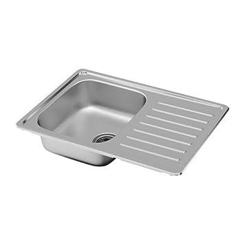 Ikea fyndig lavello da incasso 1 piscine; in acciaio inox; Incluso ...