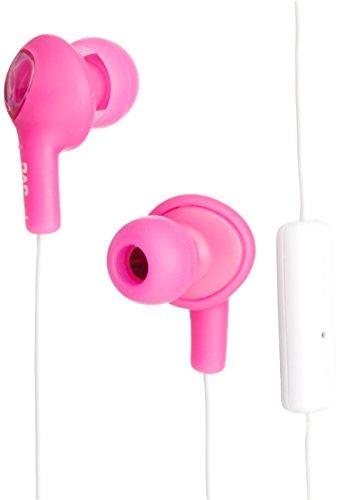 JVC HAFR55P Gumy Earbud Headphones