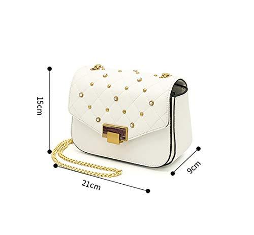 A Donna Borsa Per Flht Ragazza Piccola Regalo Cosmetica Portafoglio White Compleanno Tracolla q4FnwWxWaT