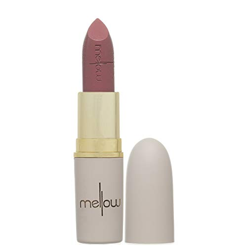 Long Lasting Matte Lipstick (Nude) - Smudge Proof, Moisturizing, Non Sticky Lip Stick - Glides Smoothly - Vegan, Cruelty Free & Paraben Free - Lip Makeup by Mellow Cosmetics - Nude