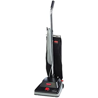 Click for Rubbermaid Commercial 1868437 Executive Series Standard Upright Vacuum Cleaner, 16-inch, Black