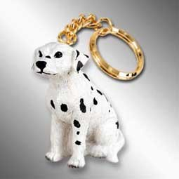 (Dalmatian Keychain)