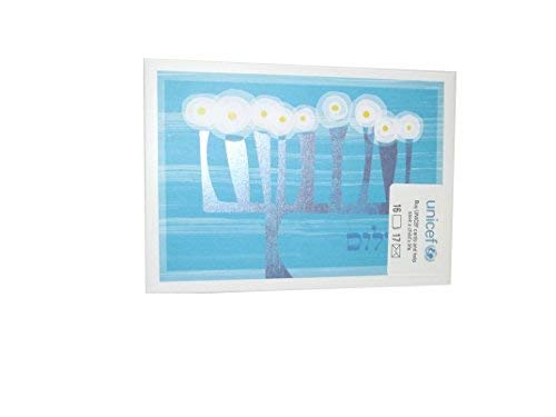 - Hallmark Hanukkah Cards Boxed Set, Menorah Candles with Silver Foil Design (Deluxe Box Includes: 16 Chanukah Cards, 17 Envelopes)