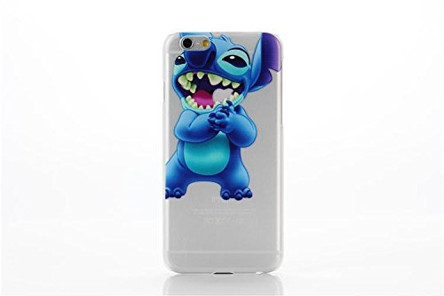 iPhone 6/6s  Stitch Silicone Phone Case / Gel Cover for Appl