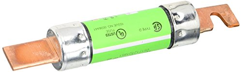 Fuse 100 Amp (Bussmann Available FRN-R-100 100 Amp Fusetron Dual Element Time-Delay Current Limiting Fuse Class RK5, 250V UL Listed)