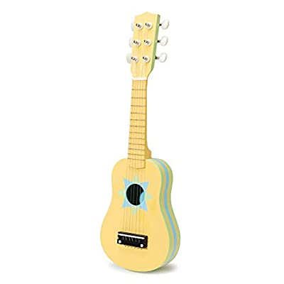 Darice Wood Guitar, 20-Inch, Unpainted: Toys & Games