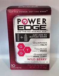 Power Edge Energy Drink Mix, Wild Berry 1.41 Oz (Pack of 12) (Wild Berry Beverage Mix compare prices)