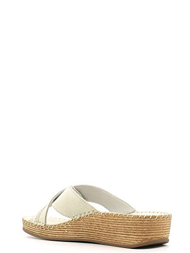 GRUNLAND Women's Fashion Sandals Off White Bianco 2.5 Ghiaccio msmtKKd