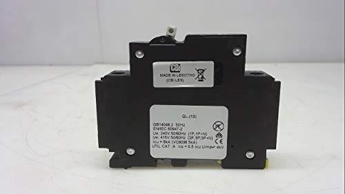 - Cbi Ql-T-1(13)-Dm-Km-10A, Circuit Breaker, 1 Pole, 10A, Curve Km Ql-T-1(13)-Dm-Km-10A