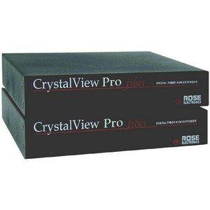 Rose Electronics CrystalView Pro Fiber DVI-USB Multimode KVM Extender - Rose Crystalview Pro Fiber