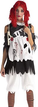 Rag Doll Adult Costume (Scary Rag Doll Costumes)