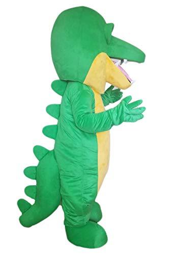 ARISMASCOTS Adult Size Crocodile Mascot Costume Sports Mascots College Mascot Costumes