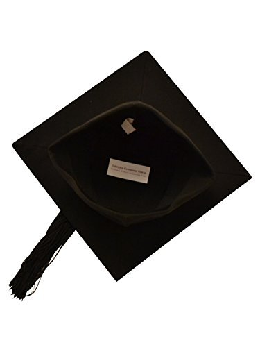 BULK BUY - 50 x Fitted Mortarboard / Trencher Caps Any by Ashington Gowns (Image #1)