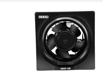 Usha Crisp Air 150mm Exhaust Fan (Black)