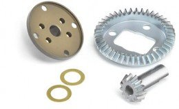 Carson Bevel Gear G 43 T,Pinion Gear13T & Diff Housing