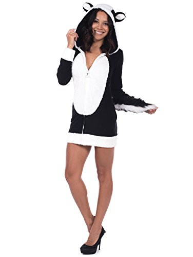 tipsy elves cute skunk halloween costume dress for sale funtober halloween 2018