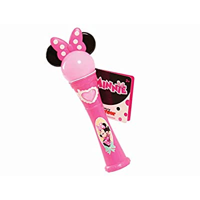 Disney Junior Minnie Musical Light-Up Microphone (Dispatched from UK): Toys & Games
