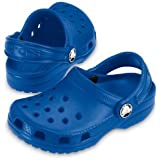 Crocs Junior Toddler Cayman Sea Blue 3 UK Child