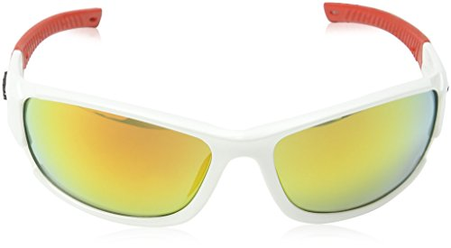 Red Lunettes White White Homme Soleil de Eyelevel Blanc FP8RPw