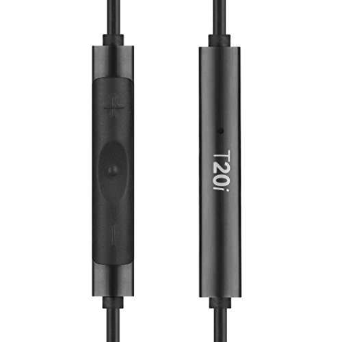 31VIs8f1fvL - RHA T20i in-Ear Monitors (Gen. 2): HiFi Noise Isolating Stainless Steel in-Ear Headphones with Remote & Mic
