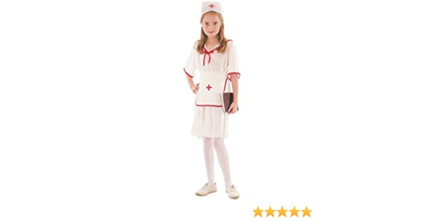 Disfraz de enfermera jefa para niña: Amazon.es: Juguetes y juegos