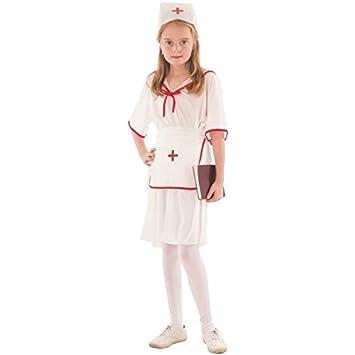 Disfraz de enfermera jefa para niña: Amazon.es: Juguetes y ...