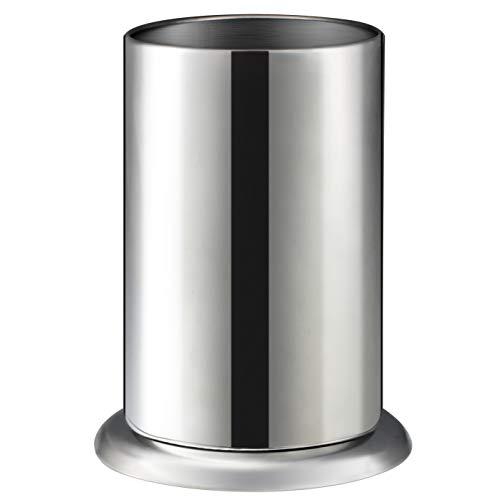 (MyLifeUNIT Counter-top Straw Dispenser, Stainless Steel Straw Holder Organizer 6.3