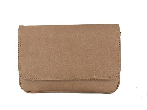 LONI instrucciones Faux Snake Skin Clutch Bag Rosa - Fuschia