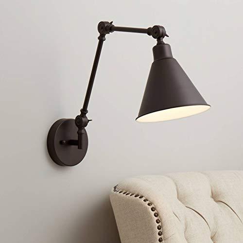 Wray Bronze Metal Hardwire Wall Lamp - 360 Lighting