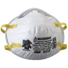 3M 8210 N95 Respirator, 20 Count (Pack of 3 (20 ct ea))